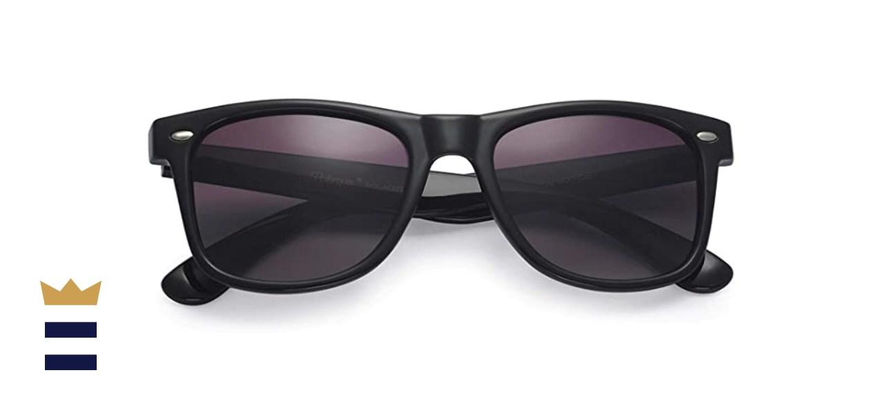 Polarspex Polarized '80s Retro Unisex Sunglasses