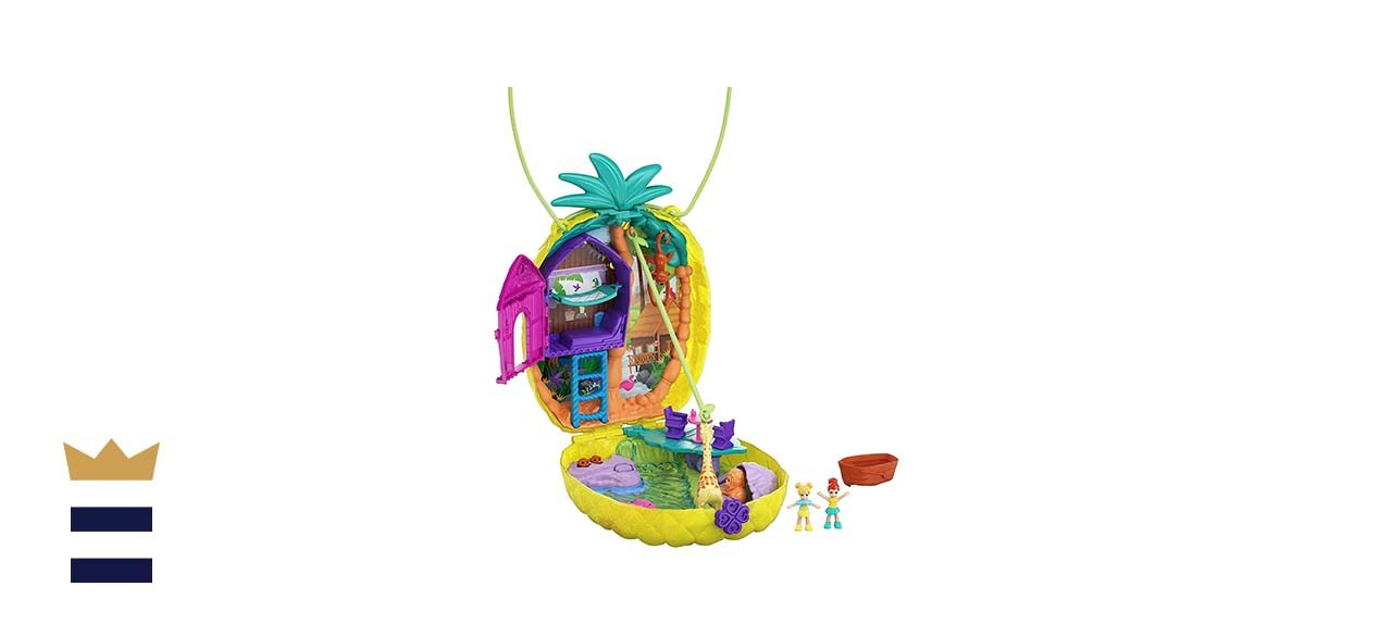 Polly Pocket Tropicool Pineapple Wearable Purse Compact