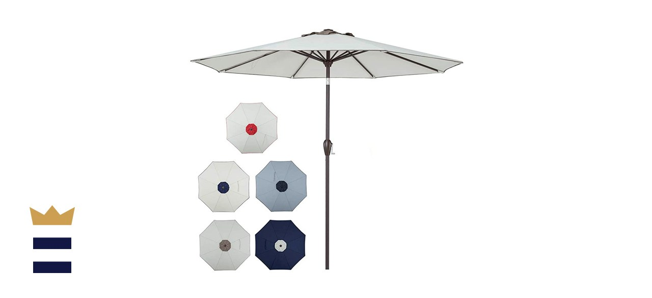 PolyTEAK 9-Foot Outdoor Umbrella