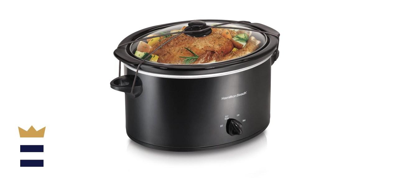 Portable 5-Quart Slow Cooker