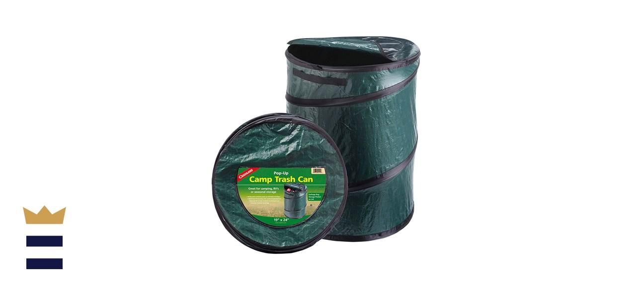 Portable trash can