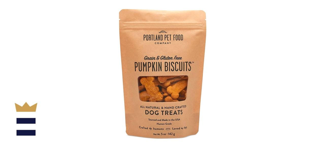 Portland Pet Food Company All-Natural Pumpkin Dog Treat Biscuits