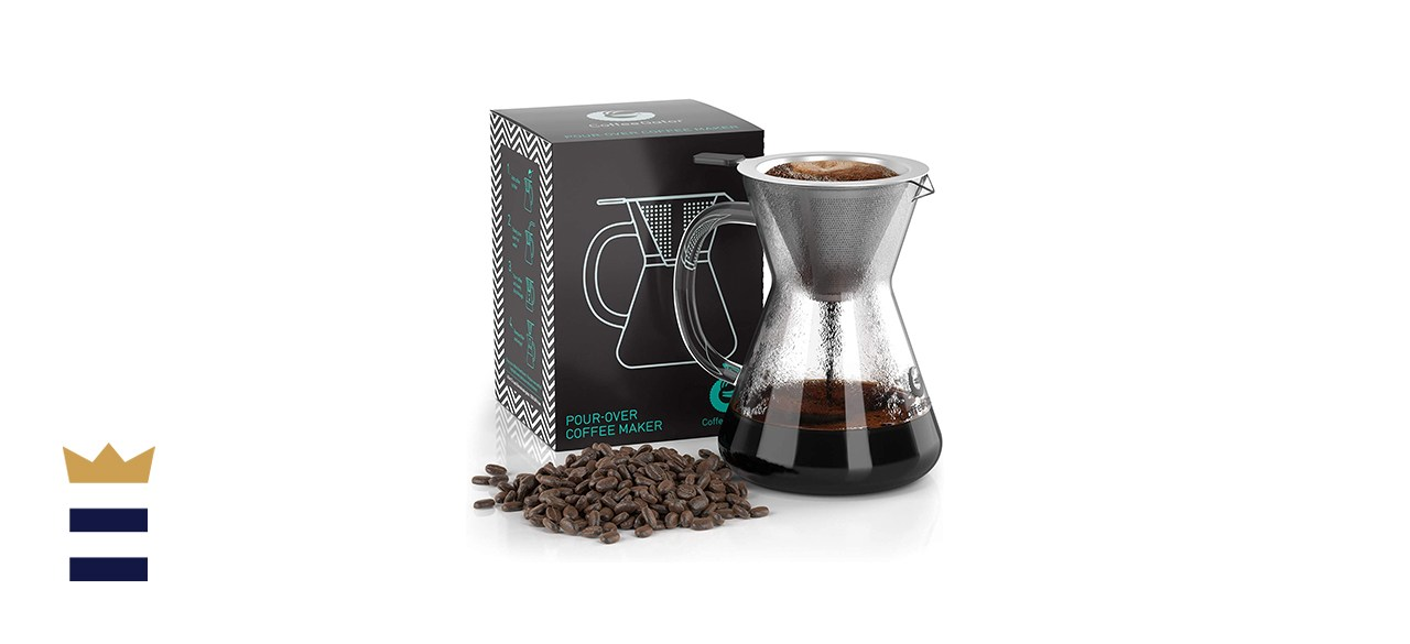 pour-over brewer