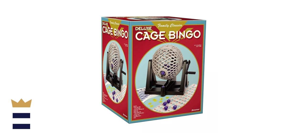 Pressman Toy's Deluxe Cage Bingo