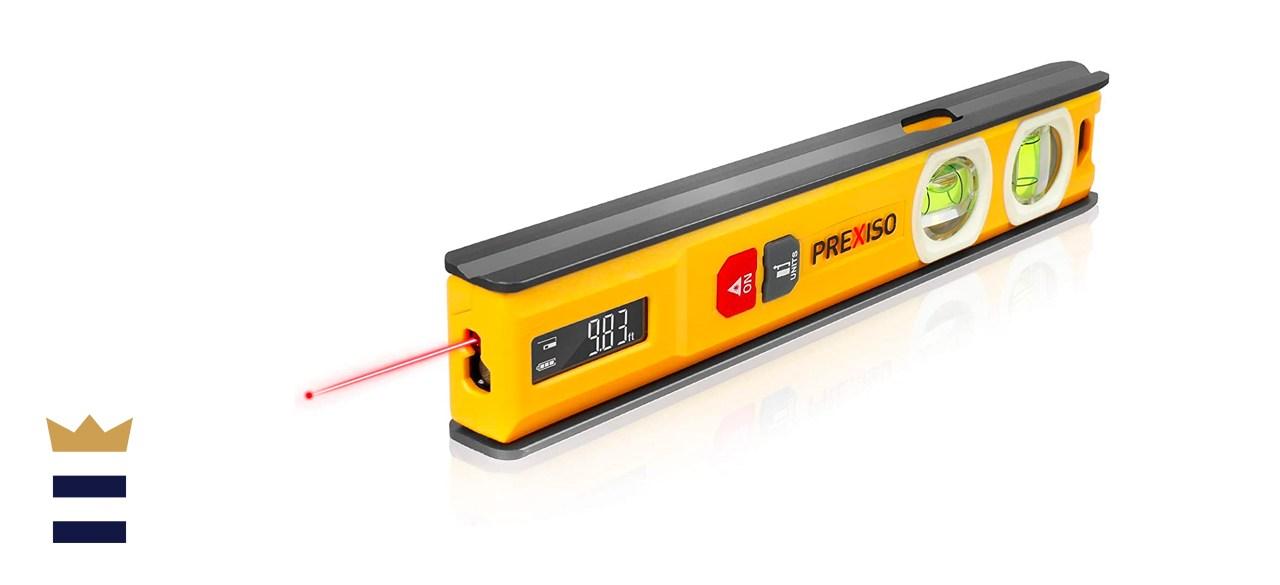 Prexiso Laser Measure and Torpedo Level