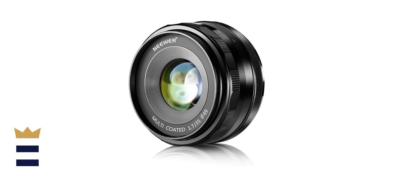Neewer 35mm F1.7 Large Aperture APS-C Manual Focus Prime Fixed Lens