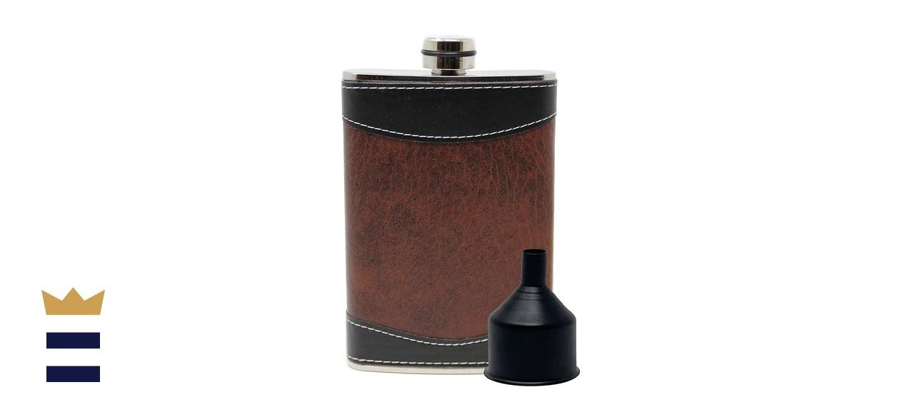 Primo Liquor Flasks Stainless Steel Gift Set