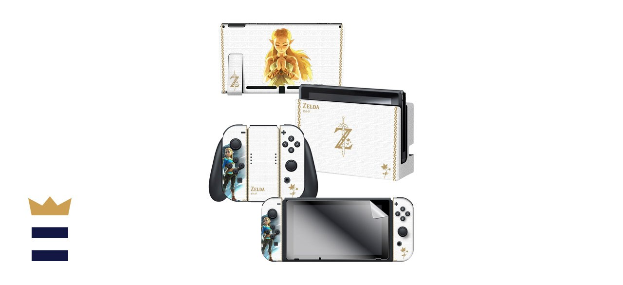Princess Zelda Breath of the Wild Nintendo Switch skin