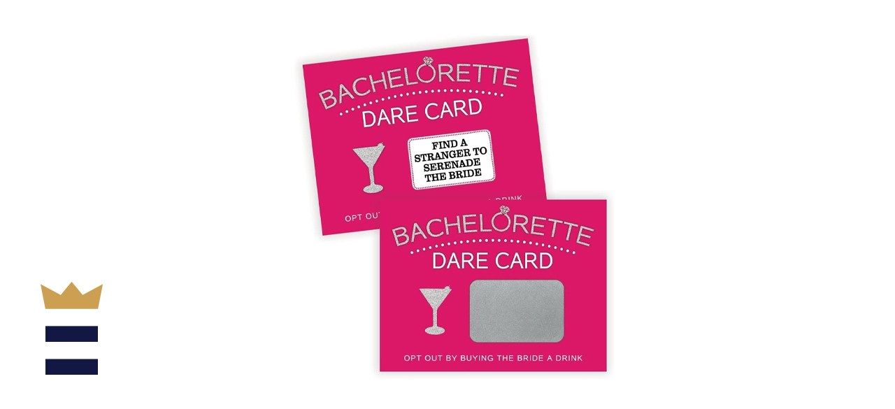 Printed Party Bachelorette Dare Card Party Game
