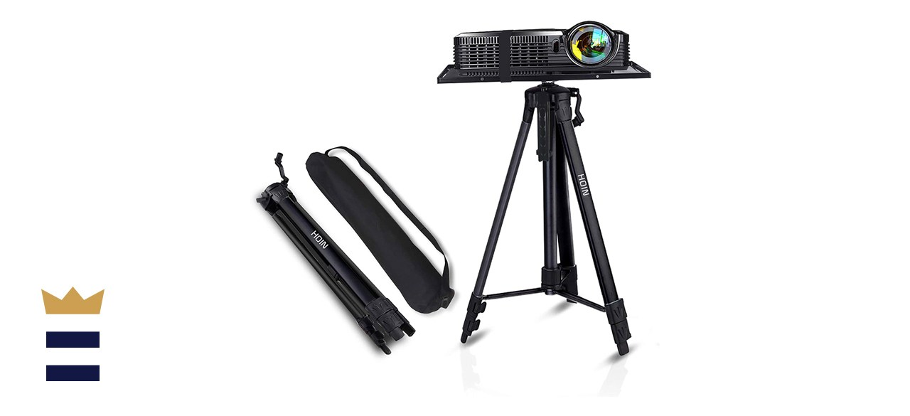Projector Tripod Stand, Universal Aluminum Laptop Projector Stand