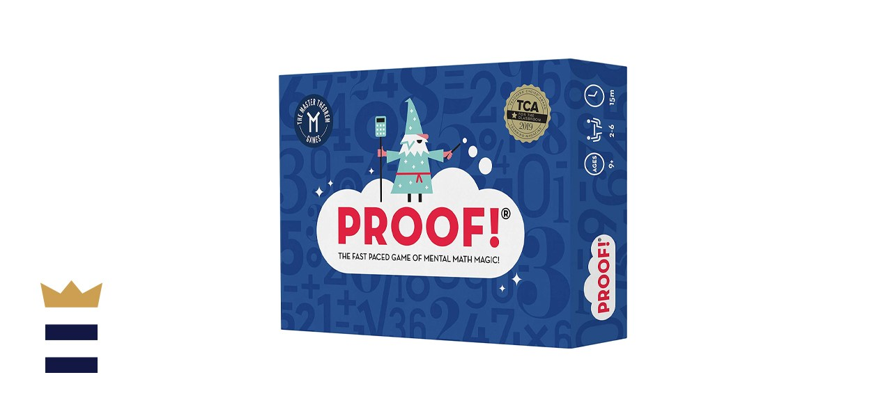 Proof! - The Fast-Paced Game of Mental Math Magic