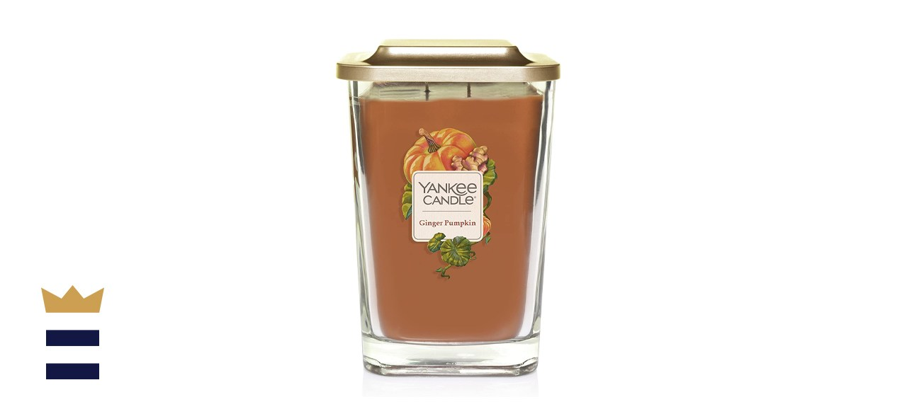 Yankee Candle Elevation Collection with Platform Lid Ginger Pumpkin Scented Candle