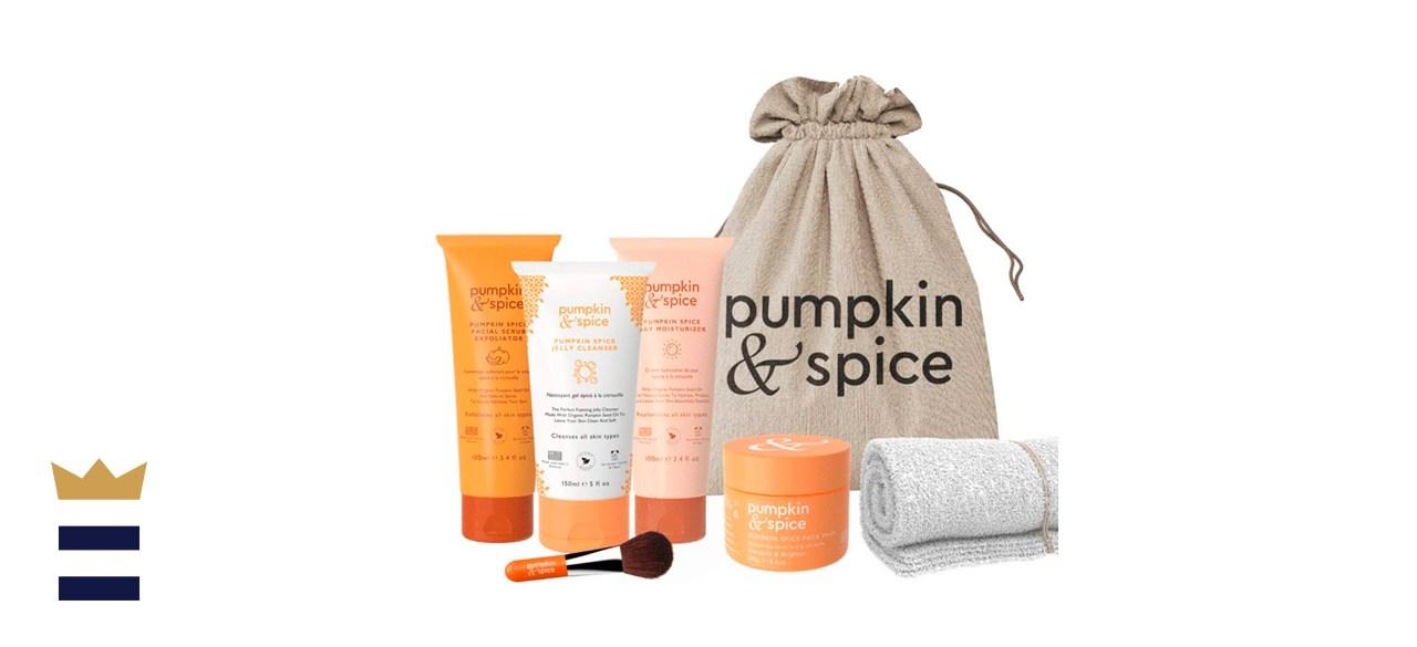 Pumpkin Spice Face Pumpkin Spice Skincare Day Bundle Gift Set