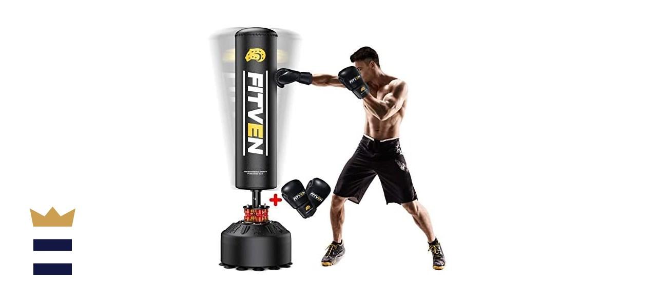 FITVEN Freestanding Punching Bag