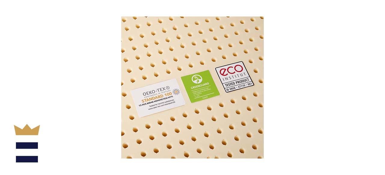 Pure Green Firm Natural Latex Mattress Topper