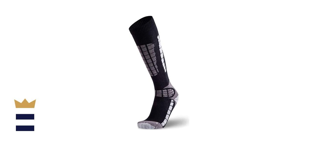 PureAthlete Lightweight Warm Skiing Socks
