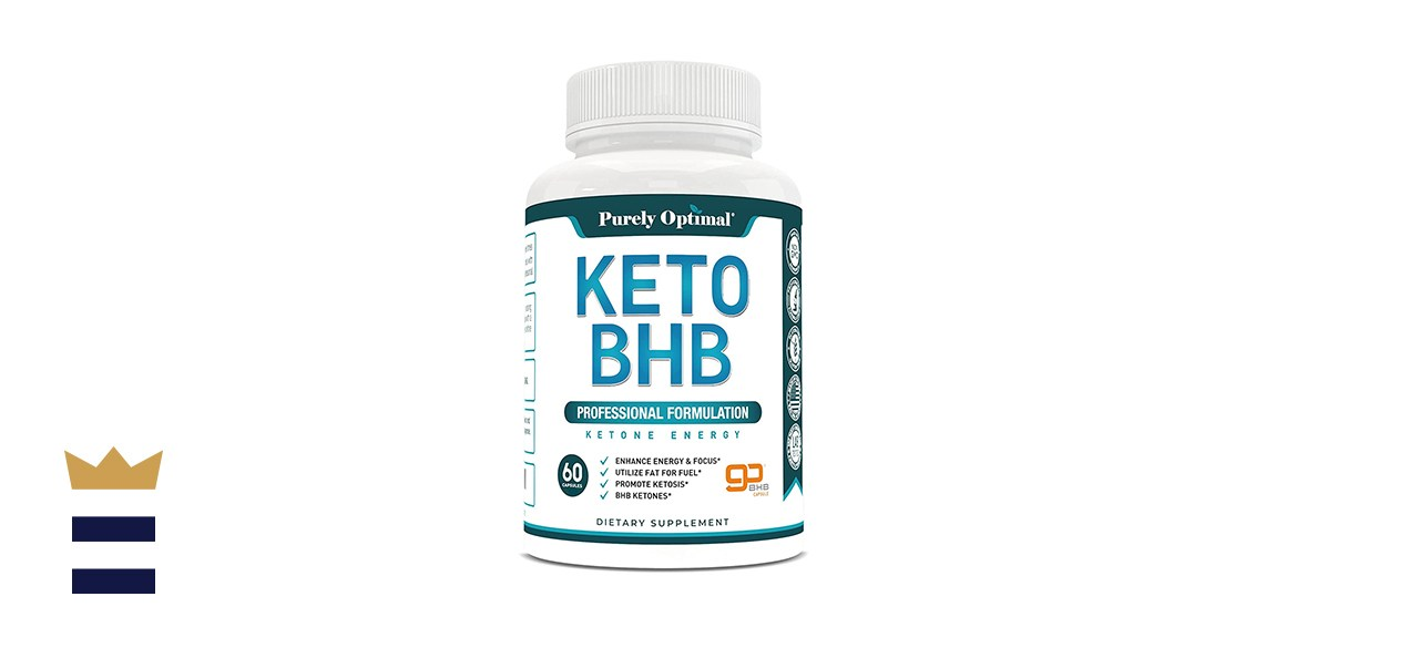 Purely Optimal Premium Keto Diet Pills - BHB Ketogenic Supplements