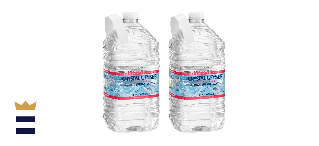 CRYSTAL GEYSER SINCE 1977 Purified Water 1 Gallon