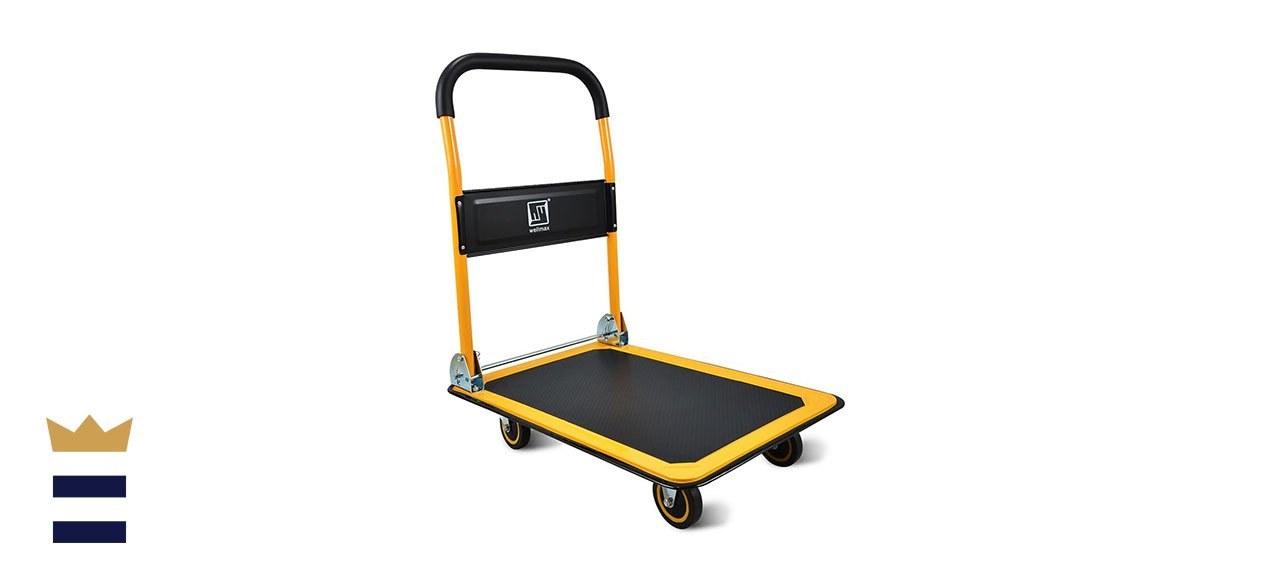 Push Cart Dolly by Wellmax Moving Platform Hand Truck