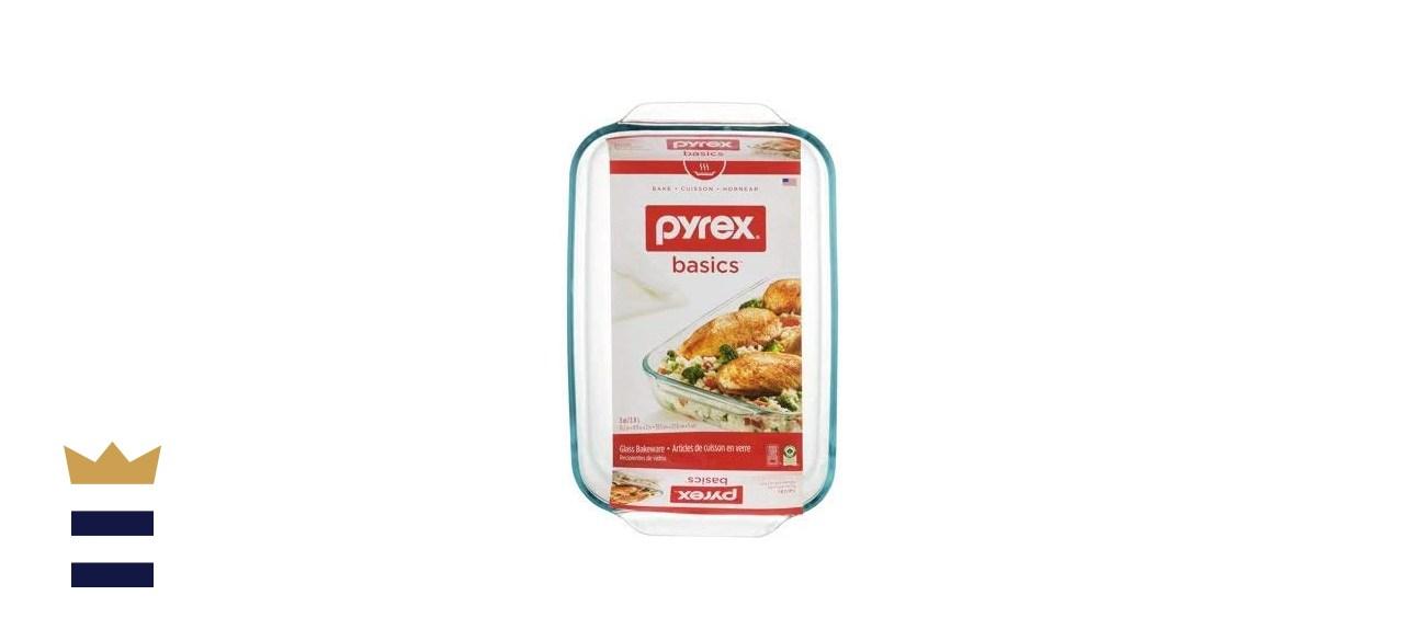 Pyrex Basics 3 Quart Oblong Glass Baking Dishes