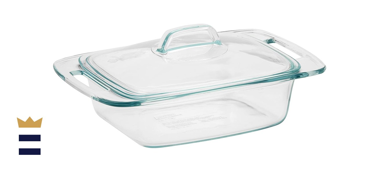 Pyrex Easy Grab Glass Casserole Dish with Glass Lid