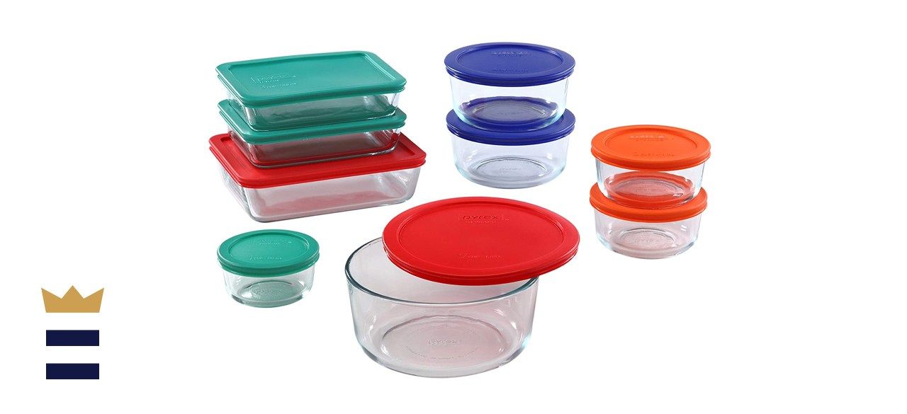Pyrex Simply Store Glass Food Storage Containers