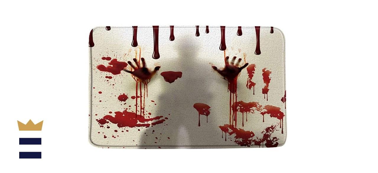 QKD Inc. Bloody Hands Bath Mat