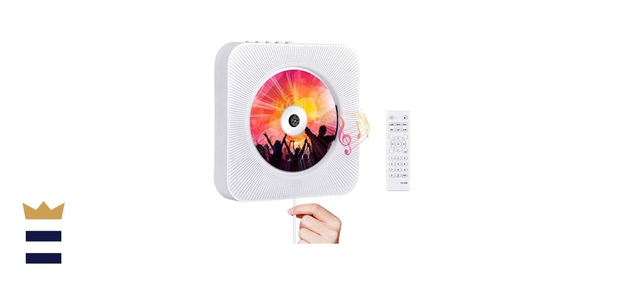 Qoosea Wall Mountable CD Player