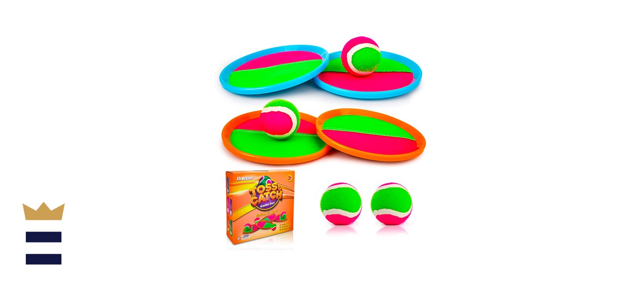 Qrooper Kids Toys Toss and Catch Game Set