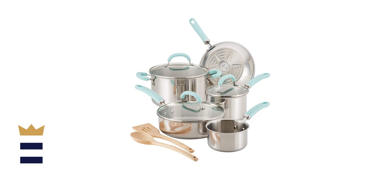 Create Delicious Stainless Steel Cookware Set