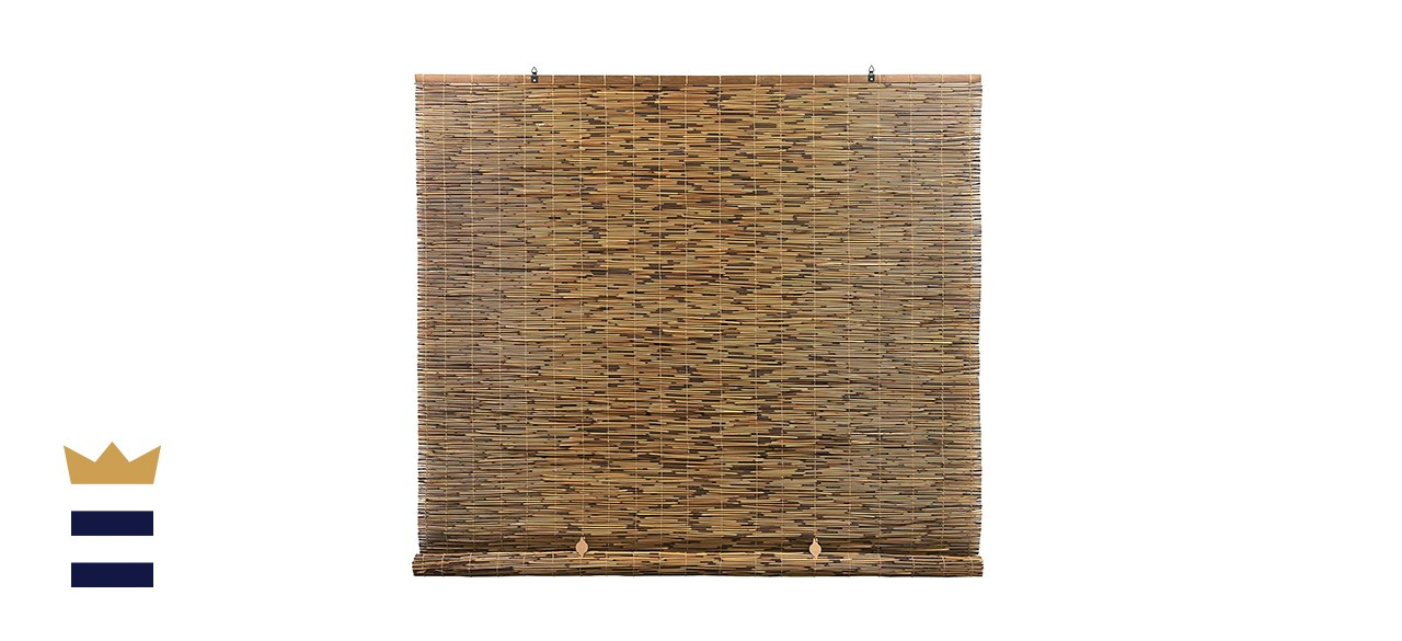 Radiance Cord-Free Roll-Up Reed Shade