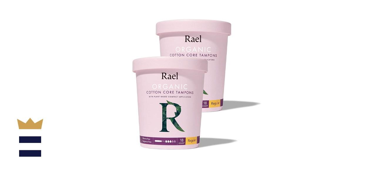 Rael Organic Cotton Compact Tampon