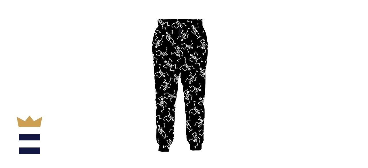 RAISEVERN Sweatpants with Drawstring