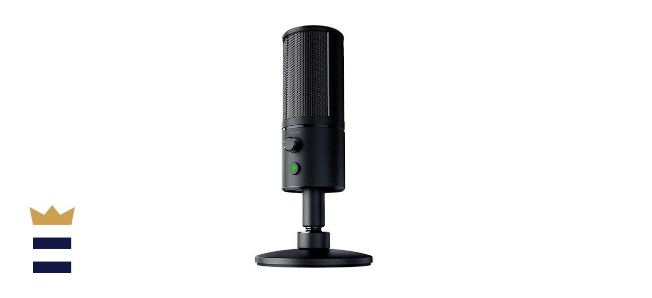 Razer Seirēn X Unidirectional Streaming Condenser USB Computer Microphone