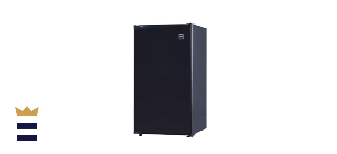 RCA Black Mini Refrigerator, 3.2 Cu Ft Fridge, Black