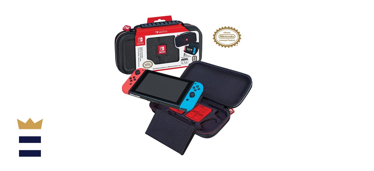 RDS Industries Nintendo Switch Deluxe Travel Case with Game Compartments