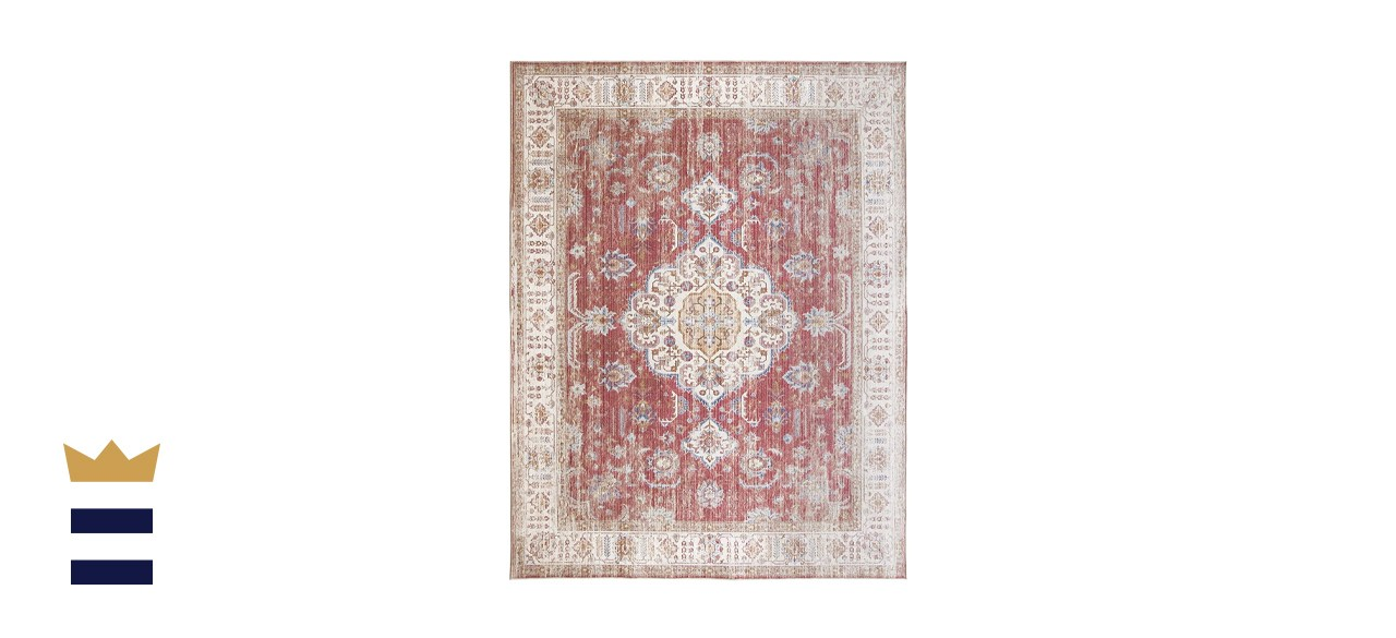 ReaLife Rugs Machine Washable Rug - Stain Resistant, Non-Shed - Eco-Friendly, Non-Slip, Family & Pet Friendly
