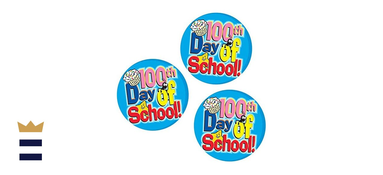 Really Good Stuff 100th Day of School Stickers