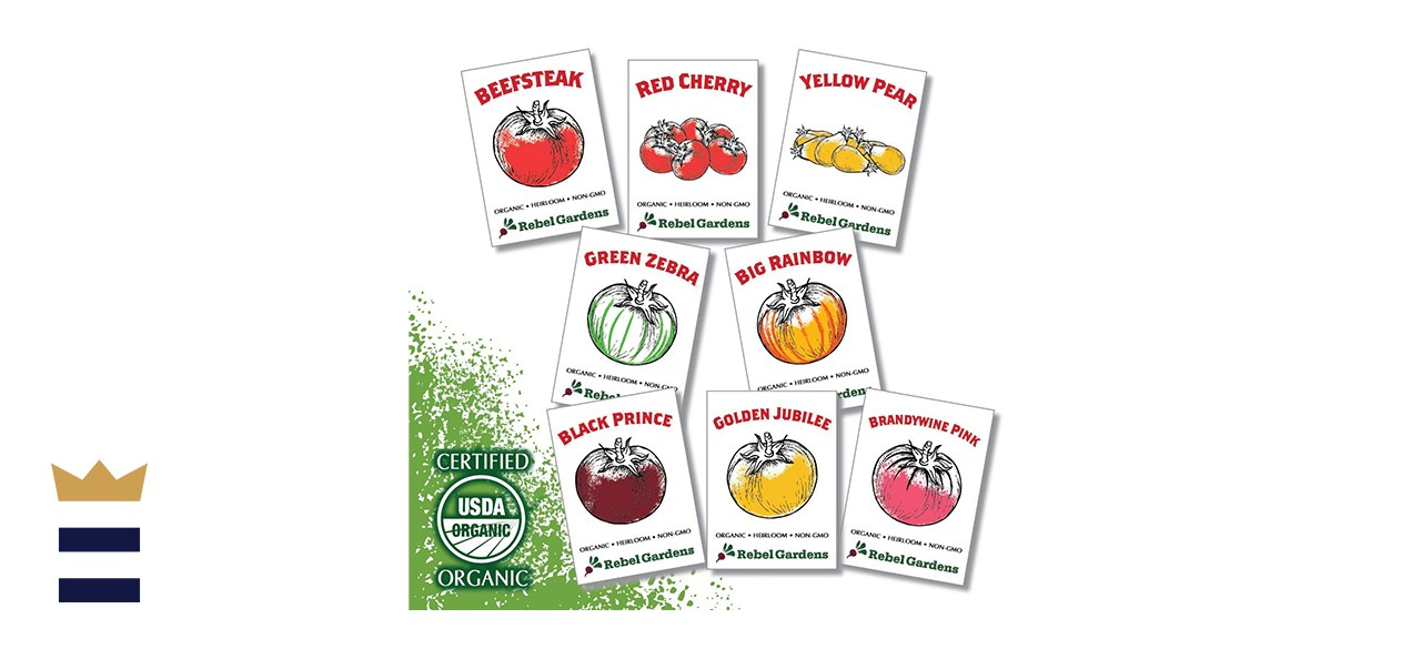 Rebel Gardens Heirloom Tomato Seeds