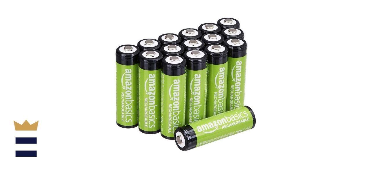 Amazon Basics 16-Pack AA Performance 2,000 mAh Rechargeable Batteries