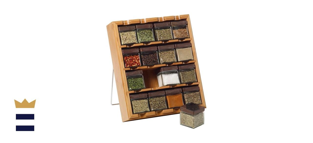 rectangular spice rack