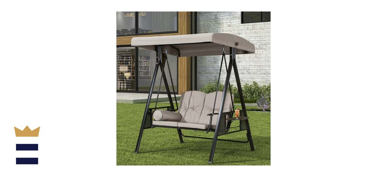 Red Barrel Studio Musa Outdoor Porch Swing with Stand