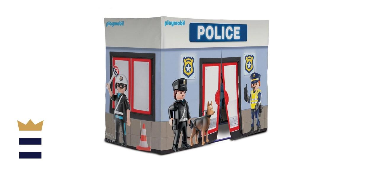 Redbox Playmobil Large Police Station Tent Playhouse