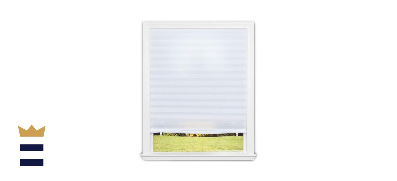 Redi Shade Quick Fix Light Filtering Pleated Fabric Shade