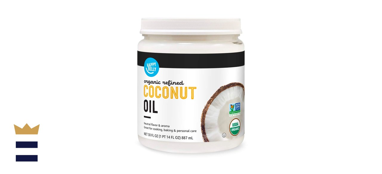 Happy Belly organic refined coconut oil