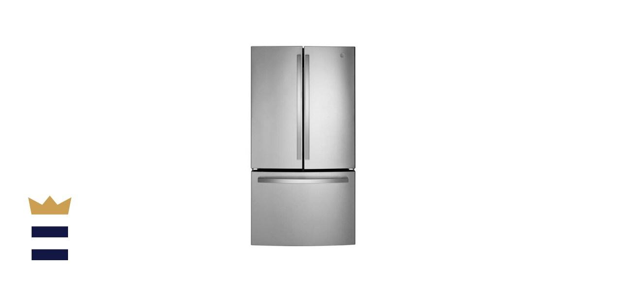 GE 27.0 cu. ft. French Door Refrigerator in Fingerprint Resistant Stainless Steel