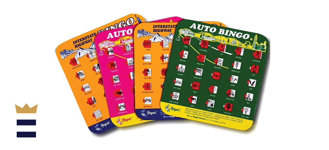 Regal Games Auto and Interstate Travel Bingo Set