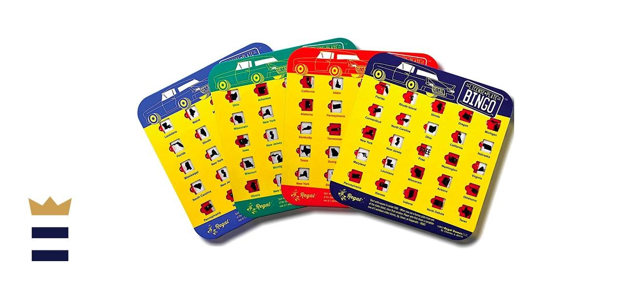 Regal Games Original License Plate Bingo Travel Set-Continuum Games