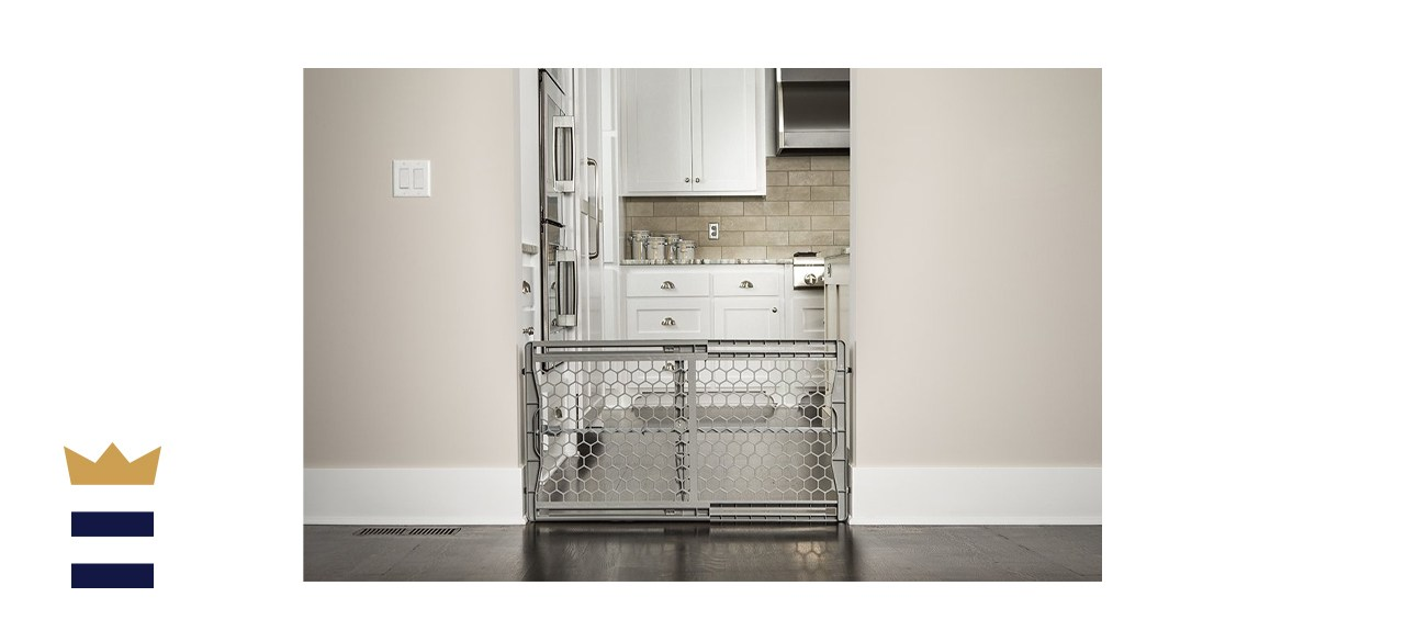 Regalo Easy-Fit Plastic Adjustable Extra Wide Baby Gate