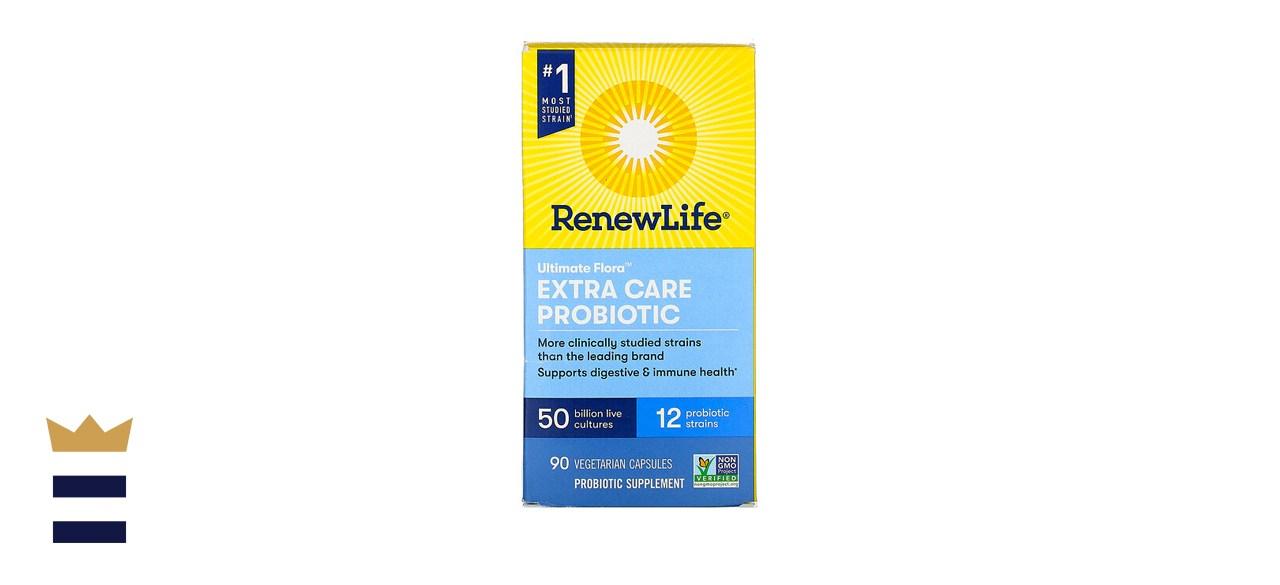 RenewLife Ultimate Flora Extra Care Probiotic 50 Billion Live Cultures